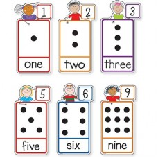 Numbers Stick Kids Bulletin Board Set