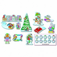 Winter Mini Bulletin Board Sets