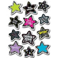 BW Stars Stickers