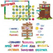 Bulletin board Calendar Woodland Friends